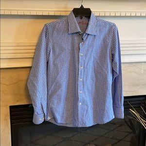 Robert graham large 14-16 button up shirt